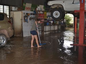 Floodwaters receding in Dalby