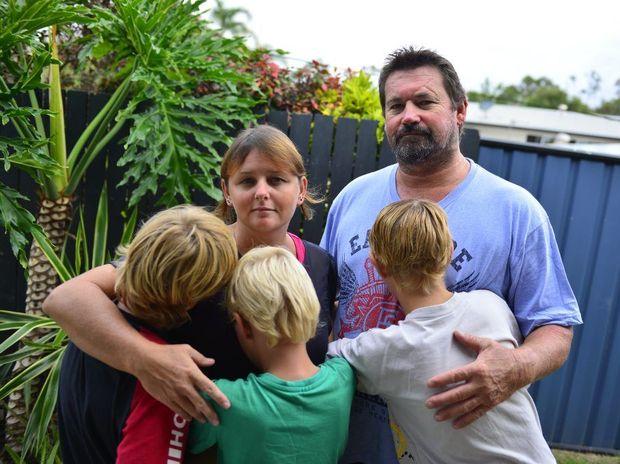 Rachael and Robert Gooch are foster parents.
