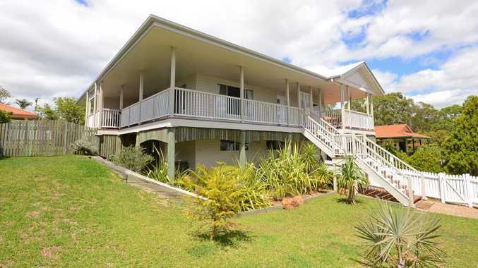 Highset modern Queenslander with water views at Scarness | Fraser ...