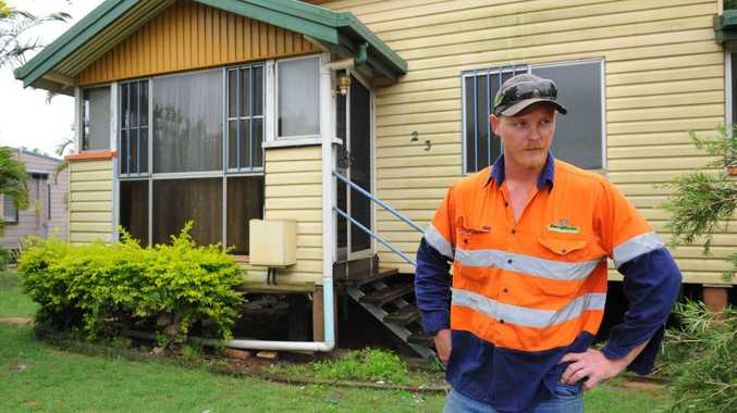 NOT HAPPY: North Bundaberg renter Cameron Lockyer is struggling to get his bond back from the real estate agency. Photo: Mike Knott / NewsMail