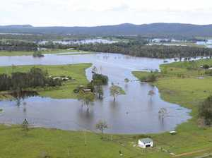 Phew! Clarence peak not so bad as river reaches 3.65m