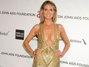 Hot Heidi Klum always body confident