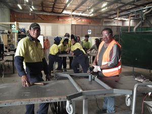 Training service Fraser Coast TESS is 30 and still on job