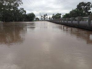 Condamine River still rising on Western Downs