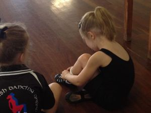 Gladstone PCYC Irish Dancers participate in workshop
