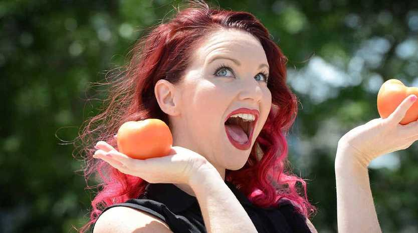 Chantelle Groben loves her tomatoes.