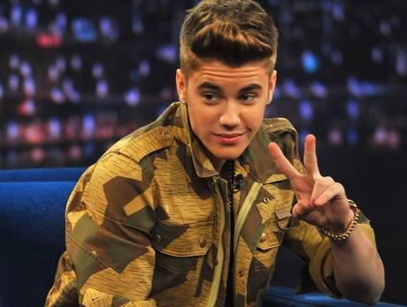 International pop artist Justin Bieber.