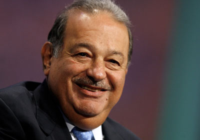Carlos Slim Helu has an estimated $73 billion fortune, according to the latest Forbes rich list.
