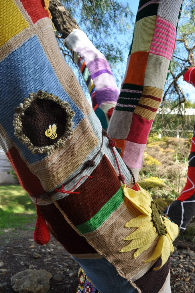 Christmas Yarn Bombing.Council Wants To Introduce Yarn Bombing For Christmas