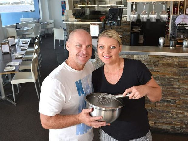 Allan Langer and his wife Janine have been busy working in their restaurant Moo Char Bar and Grill in Calioundra.