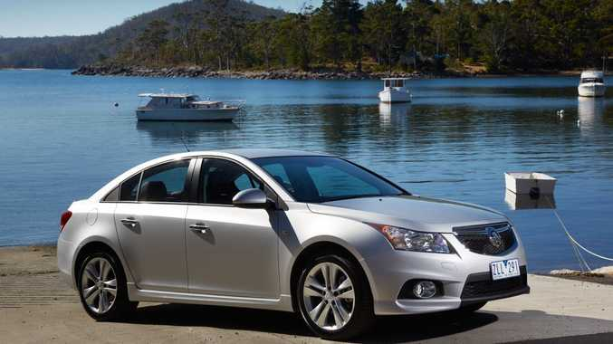 The new Holden Cruze.