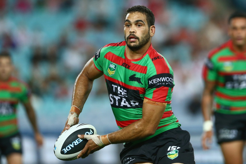 South Sydney fullback Greg Inglis