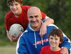 Dale Shearer with his two sons, Jesse 14 and Jakson 12.