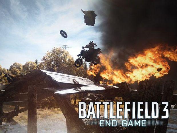 Screenshots from The final DLC expansion of Battlefield 3.