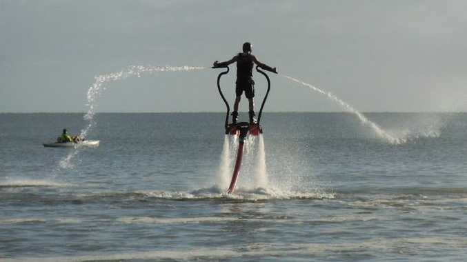 There is a huge amount of interest in flyboarding after it recently featured on Channel Seven's Sunrise breakfast program.