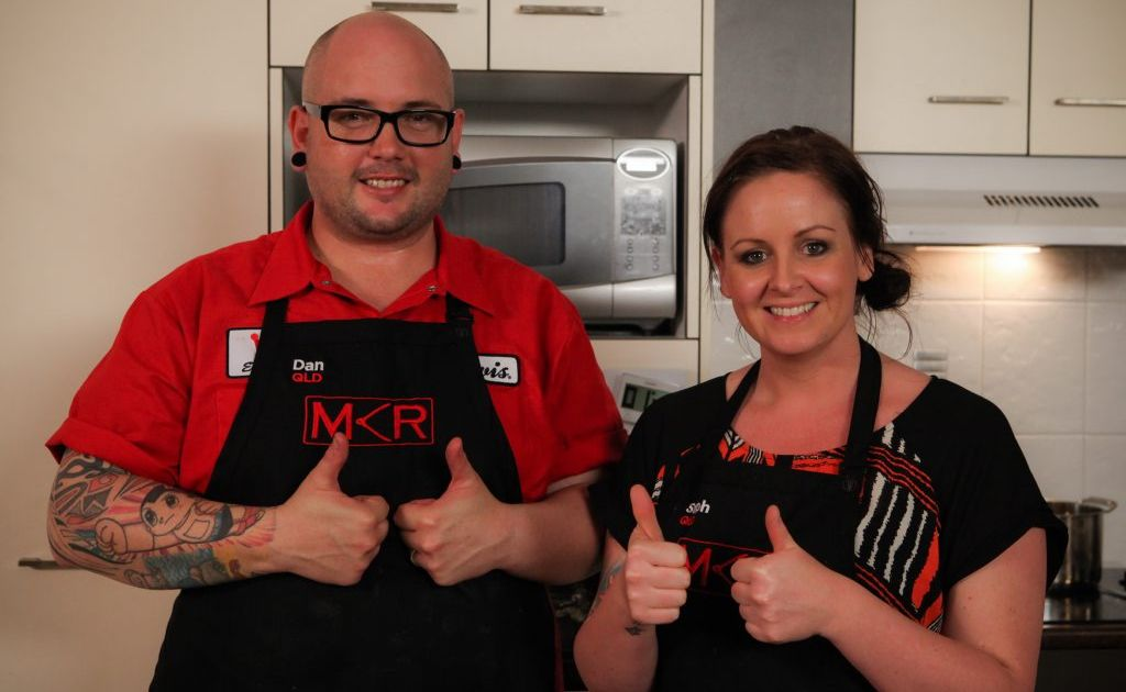 Dan and Steph Mulheron have been given another vote of confidence by MKR judge Pete Evans.