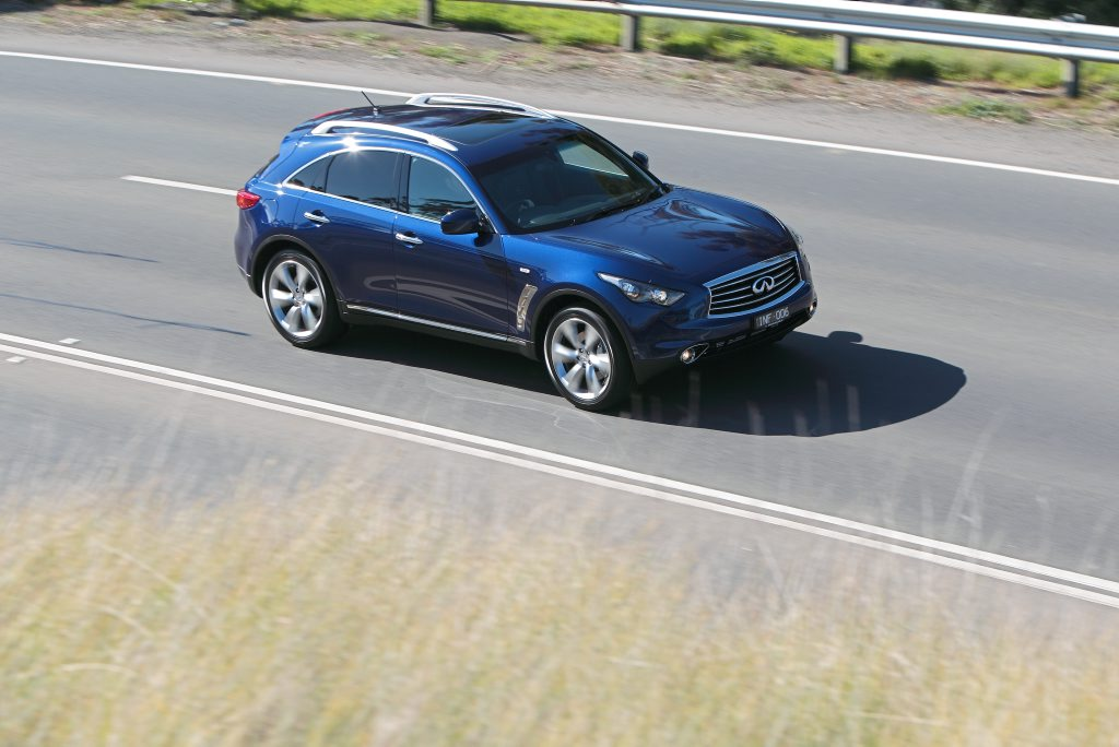 The range-topping Infiniti FX50S Premium.