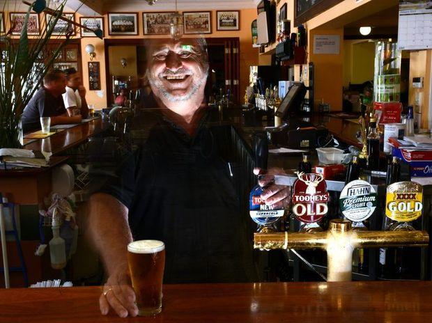 Rod Prentice at the Imperial Hotel, Murwillumbah.