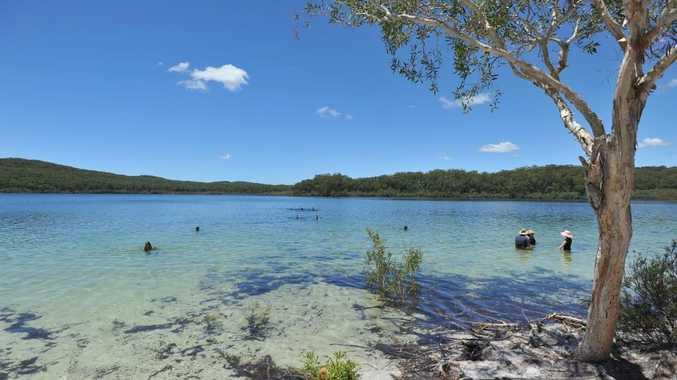 Fraser Island's Lake McKenzie.