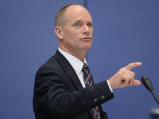 Qld Premier Campbell Newman.