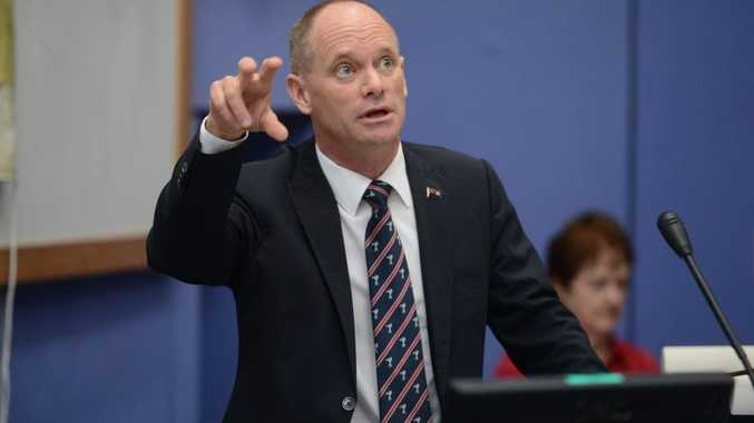 Premier Campbell Newman has given lawyers a serve.