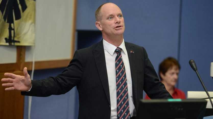 Premier Campbell Newman attends the AgForce CQ Regional Meeting with the farmer's of the local area to express their concerns.
