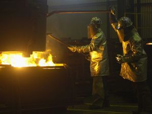 Foundry hanging on amid gloom for global upturn