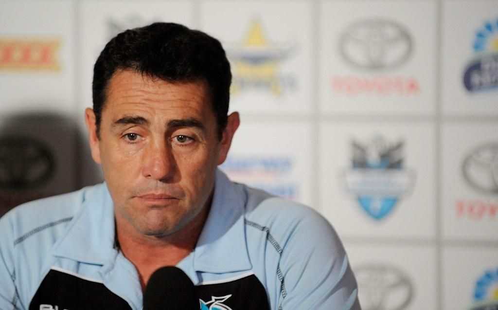 Former Cronulla Sharks coach Shane Flanagan.