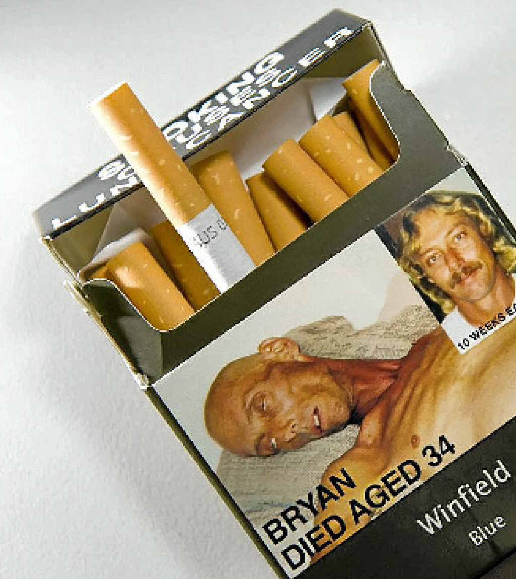 The new plain packaging.