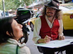 Cartoonist at family-friendly film fest