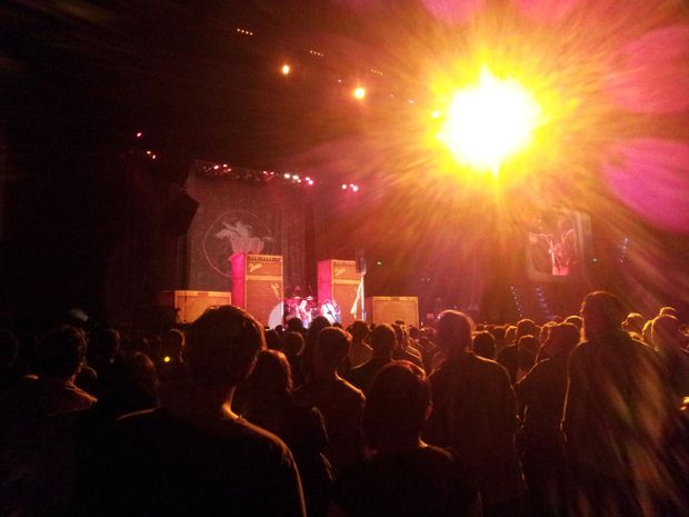 Neil Young and Crazy Horse at the Brisbane Entertainment Centre.