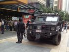 Queen St Mall in lock down with gunman Lee Michael Hillier on the loose.