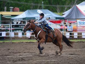 Bulls and Bands Flood Appeal: junior division barrel racing
