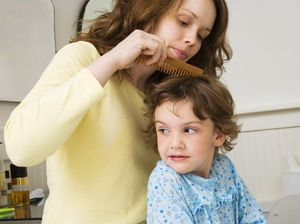 Desperate parents using flea products for kids' head lice