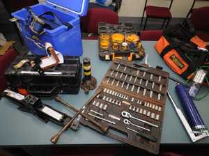 Tradies urged to lock up tools