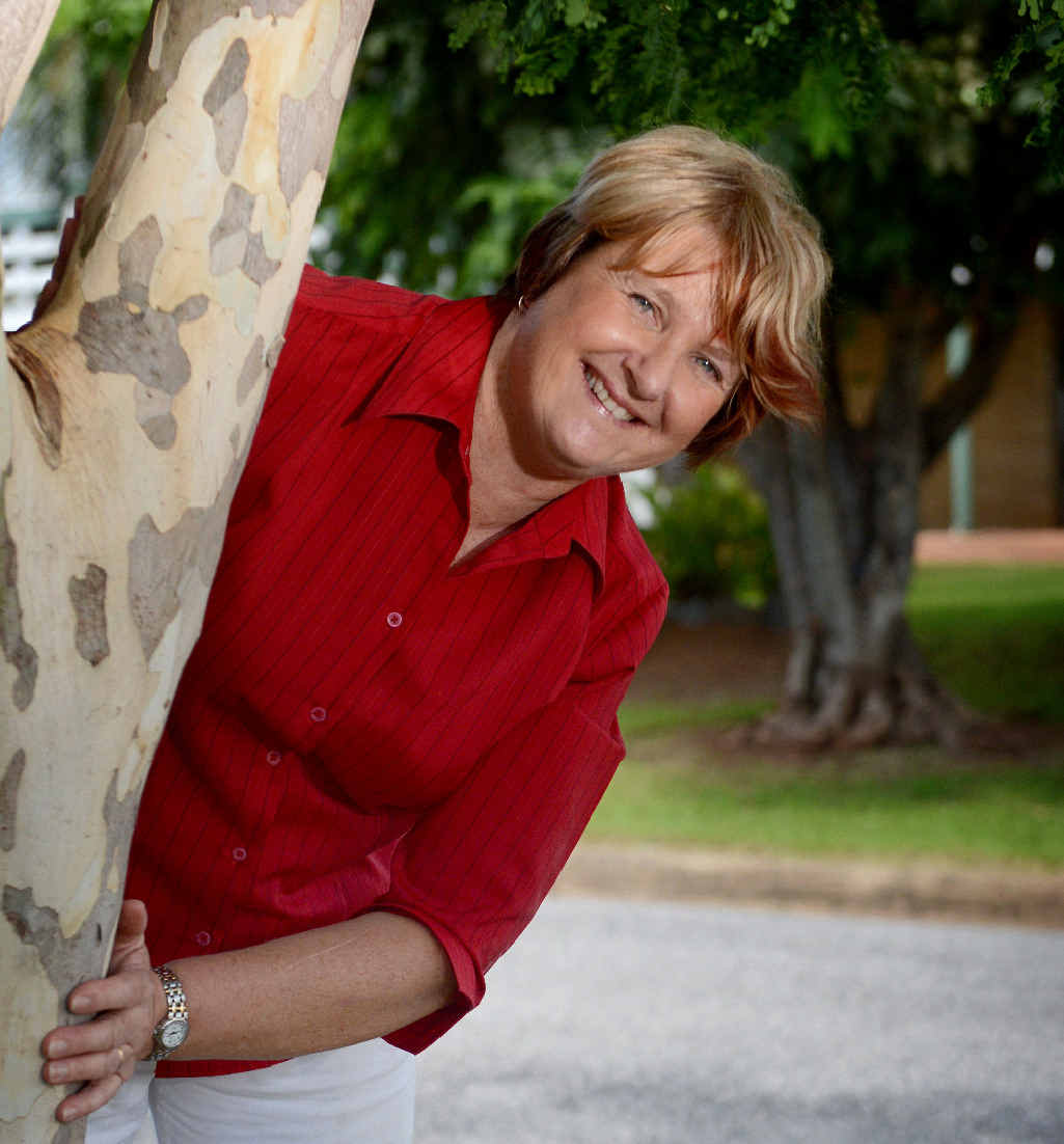 WARM WELCOME: Calliope's Jill Hopson is hosting a QUT medical student next month.