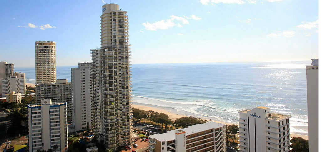 The Gold Coast is a popular destination for domestic visitors.