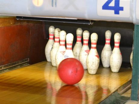 A place for kids with bowling and sports.