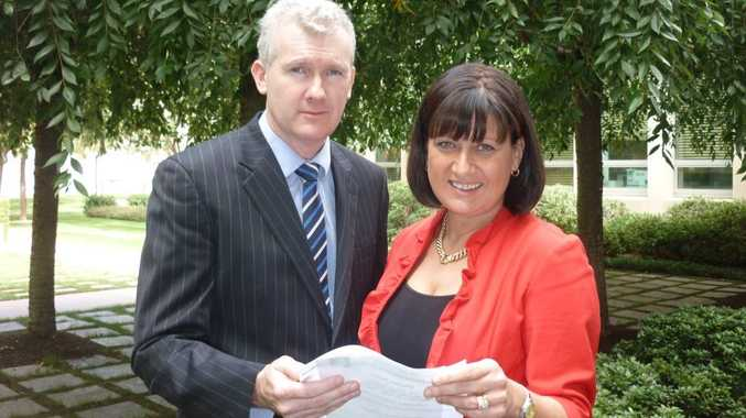 Richmond MP Justine Elliot with the Hon Tony Burke MP in Canberra.