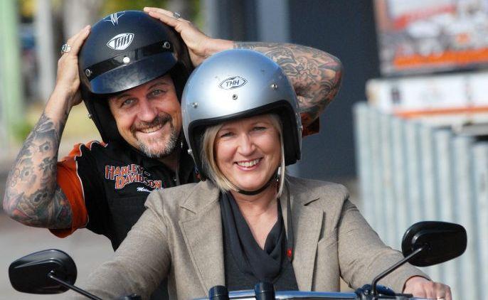 Autism Queensland CEO Penny Beeston (front)