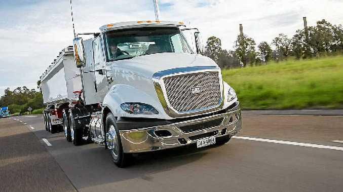 ADVANCED: The CAT trucks CT610 ultra shift model.