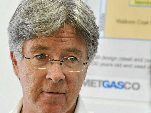 Metgasco boss Peter Henderson.