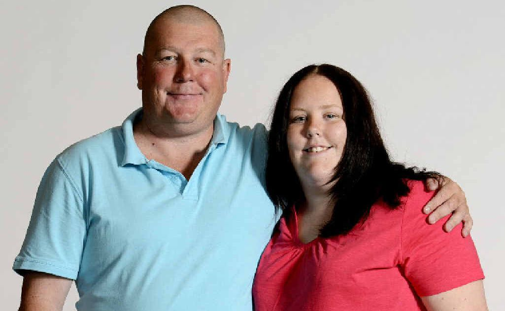 Father and daughter Sam and Jess O'Malley, of Mackay, are contestants on The Biggest Loser, which starts on Sunday night.