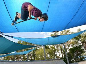 Flipping amazing stunts by Ryan