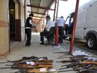 Firearm amnesty at Toowoomba Police Station. Photo Dave Noonan / The Chronicle