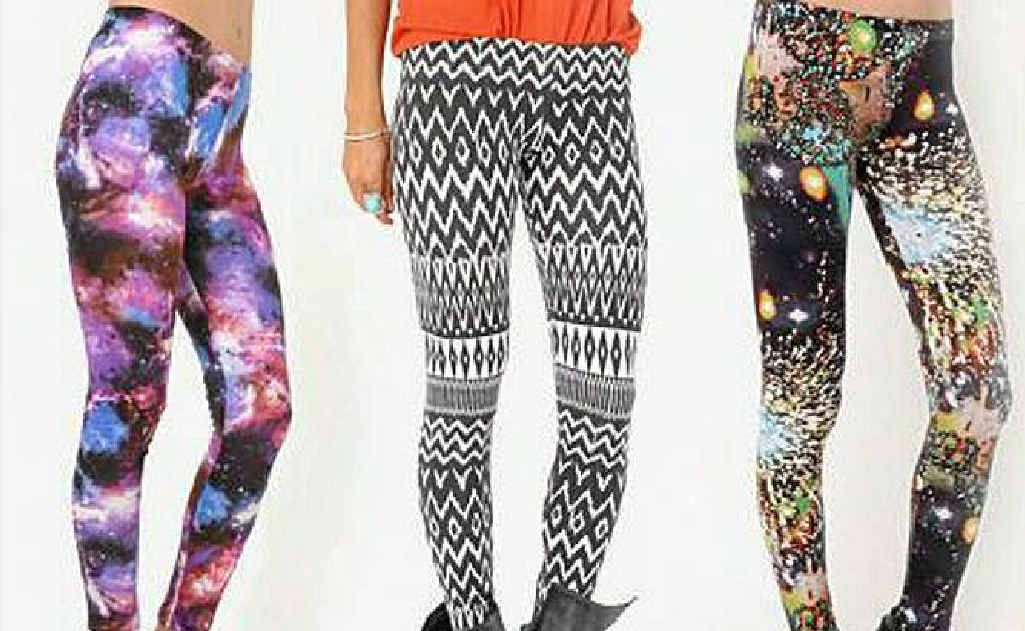 Legging it, from a range of printed leggings at Supre, priced from $10 at Supre Lismore, Byron Bay and supre.com.
