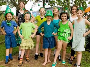 Dancers step up for St Pats