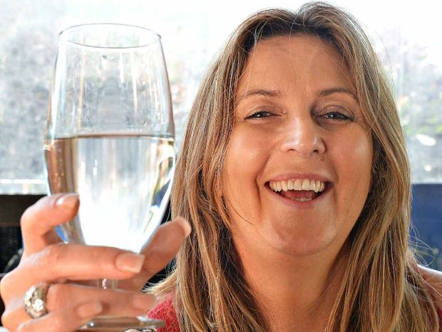 Nicola Orchard believes the glass is half full, despite a recent German study that indicates it's an outlook that can shorten your life.