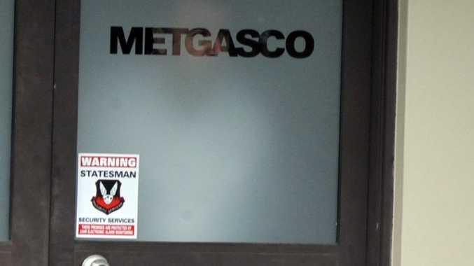 Metgasco's office in Johnston Street, Casino.