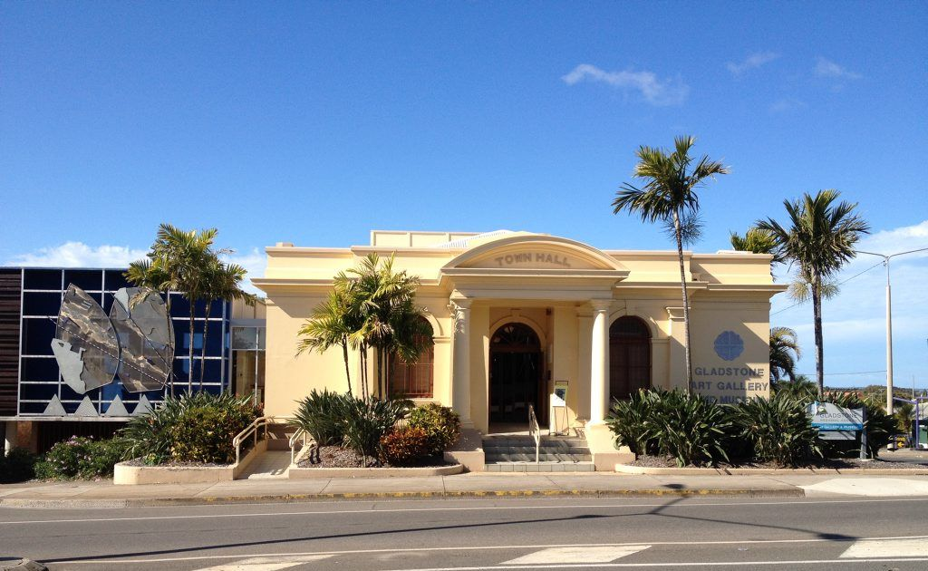 The Gladstone Art Gallery and Museum.